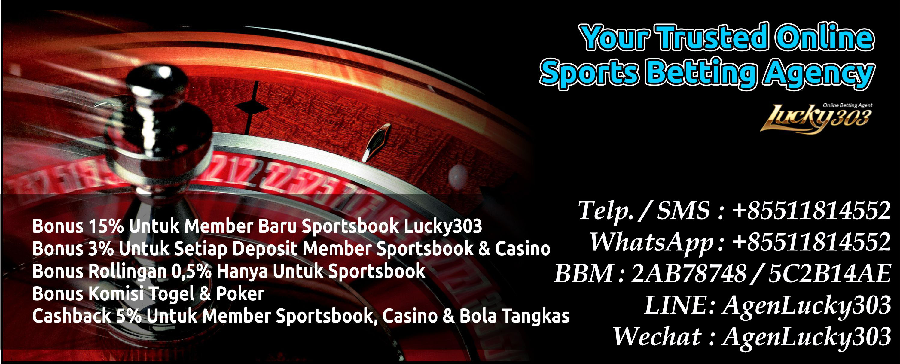 Bandar Judi Bola Online, Bandar Togel Online & Bandar Judi Online Terpercaya 2018 - Lucky303